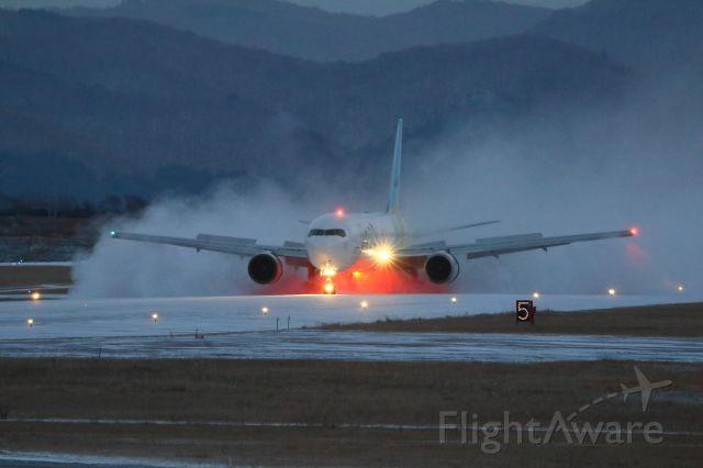 BOEING 767-300 (JA601A) - hakodateairport hokkaido japan