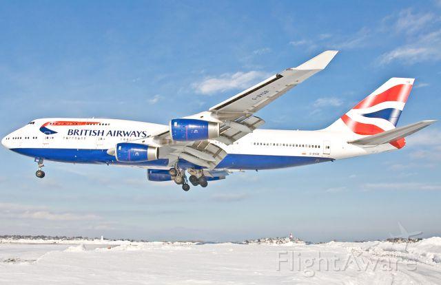 Boeing 747-400 (G-BYGB) - British Snow