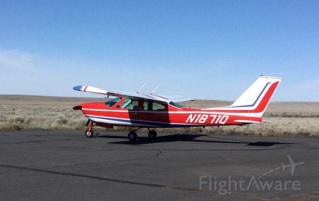 Cessna Cardinal (N1871Q) - High plains of eastern Oregon