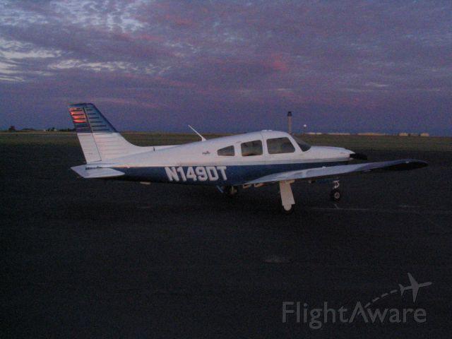 Piper Cherokee Arrow (N149DT) - Dawn breaking at KFTG on N149DT.