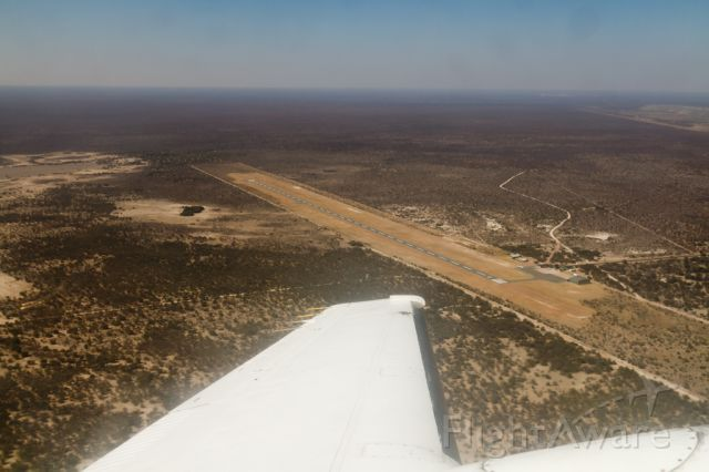 Beechcraft Super King Air 200 — - Gateway to the Orapa Diamond mine. Airport usable only by special permission.
