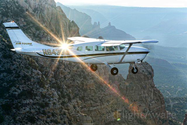 Cessna T207 Turbo Stationair 8 (N9436M) - Early morning flight over Sedona, AZ red rock country.