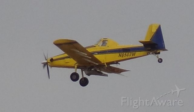 AIR TRACTOR Fire Boss (N8503W) - Taken on December 28, 2013. I saw this aircraft flying in a pattern near Eagle Airfield making low passes.