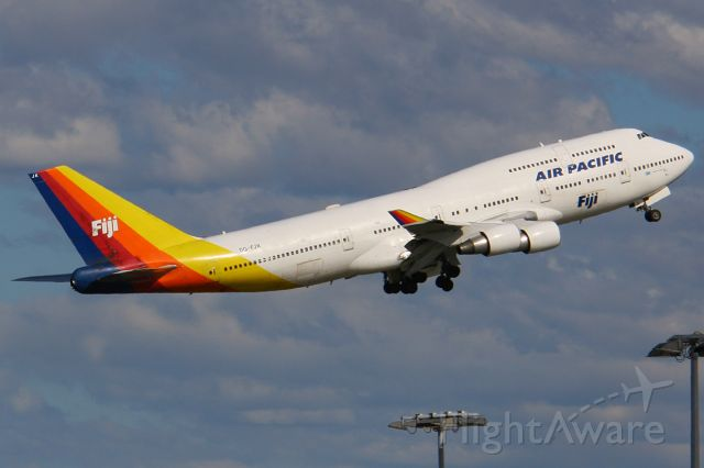 """Boeing 747-400 (DQ-FJK) - From my """"Sydney 2007"""" archives"""