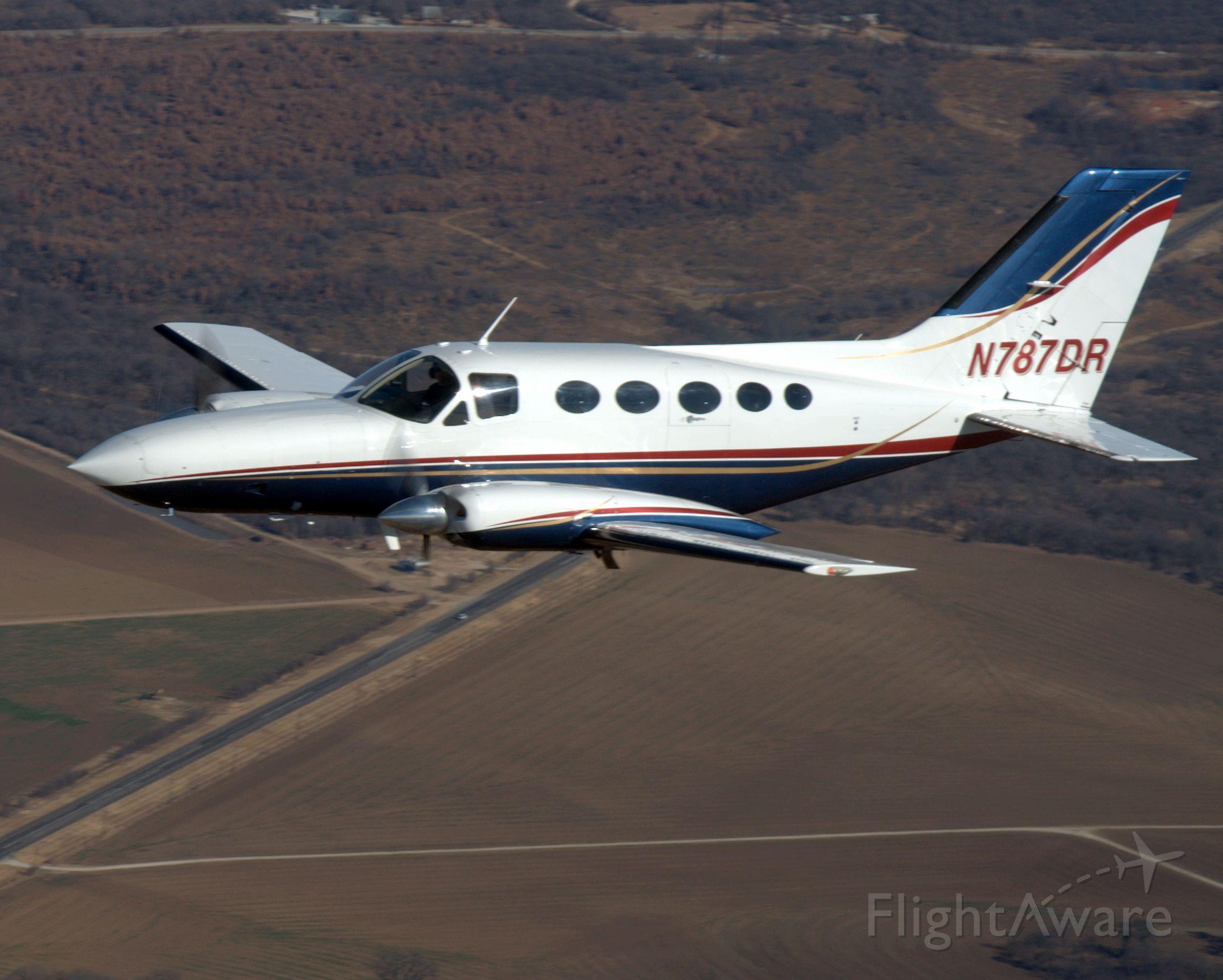 Cessna Chancellor (N787DR)