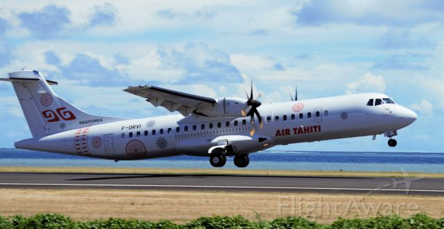 Aerospatiale ATR-72-600 (F-ORVI)
