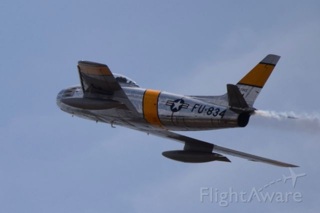 North American F-86 Sabre — - At Abbotsford Airshow, Saturday August 12, 2017.
