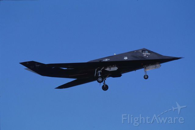 Lockheed Nighthawk — - Low Pass at Reno Stead Airport on 1991/09/14