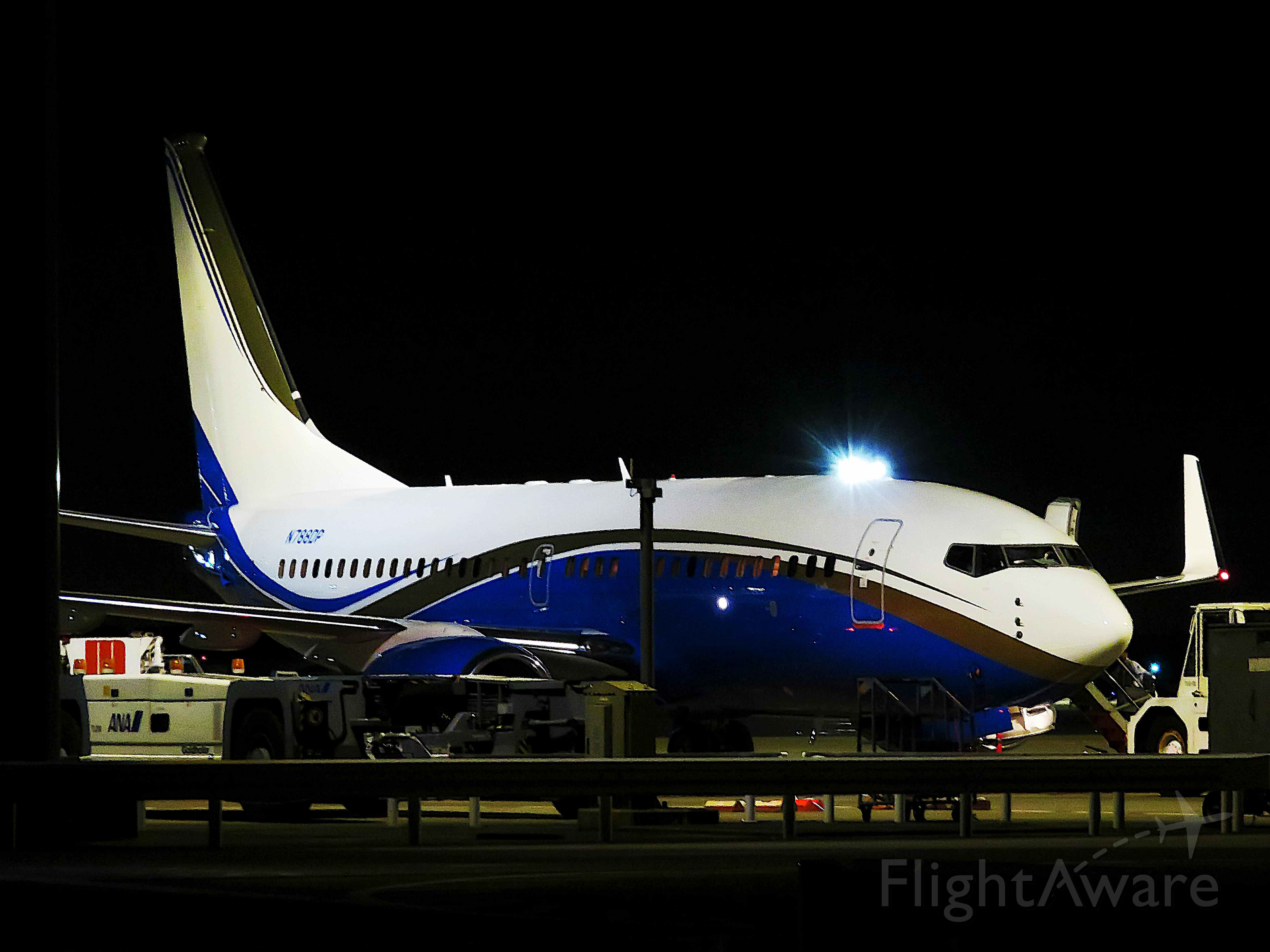 Boeing 737-700 (N788DP) - I take a picture on Oct 23, 2016.
