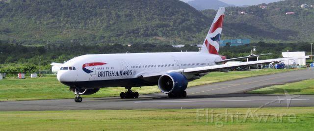 Boeing 777-200 (G-VIIY)
