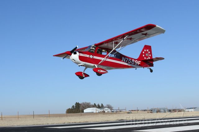N7589F — - Fly-By