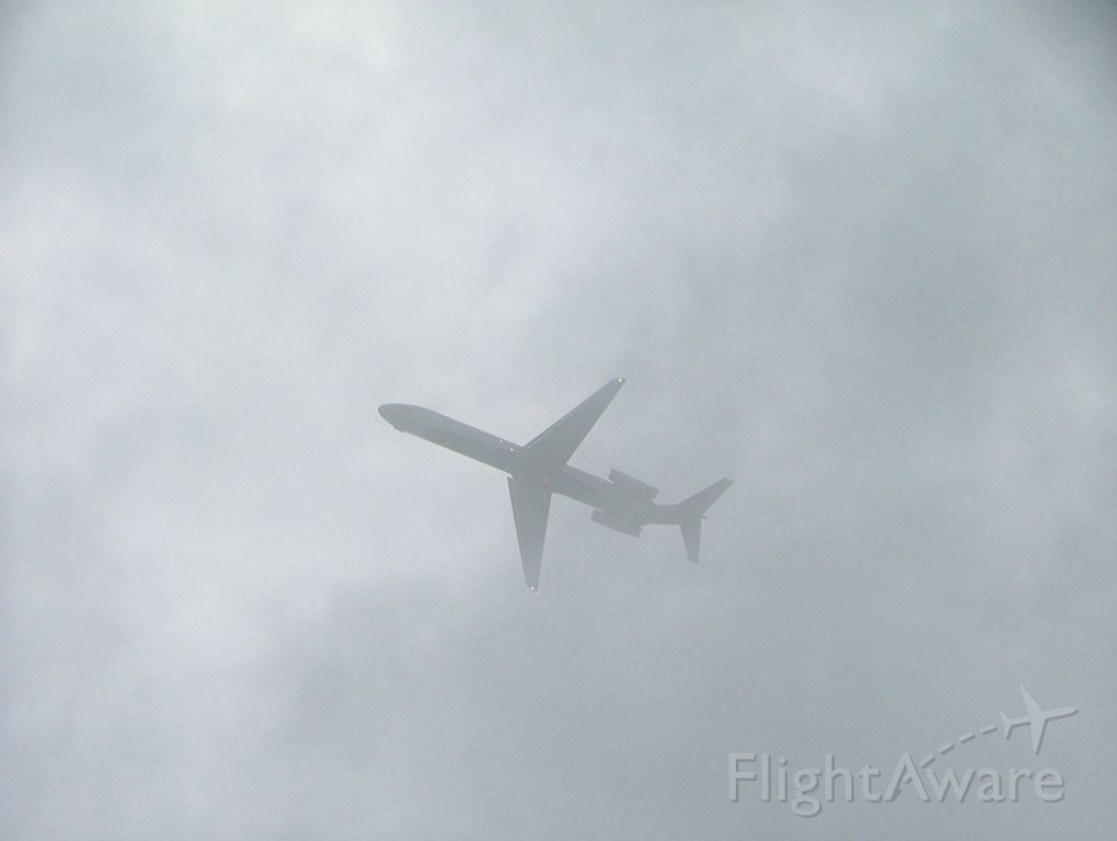 McDonnell Douglas DC-9-50 — - DELTA DC9-50 taking off into low clouds.