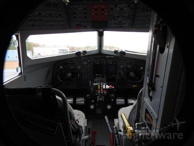 — — - DC-3 Cockpit