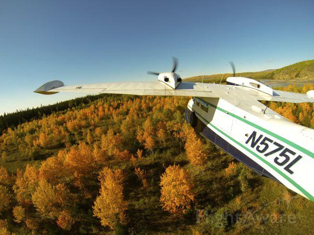 Grumman G-44 Widgeon (N575L) - Falltime in Alaska