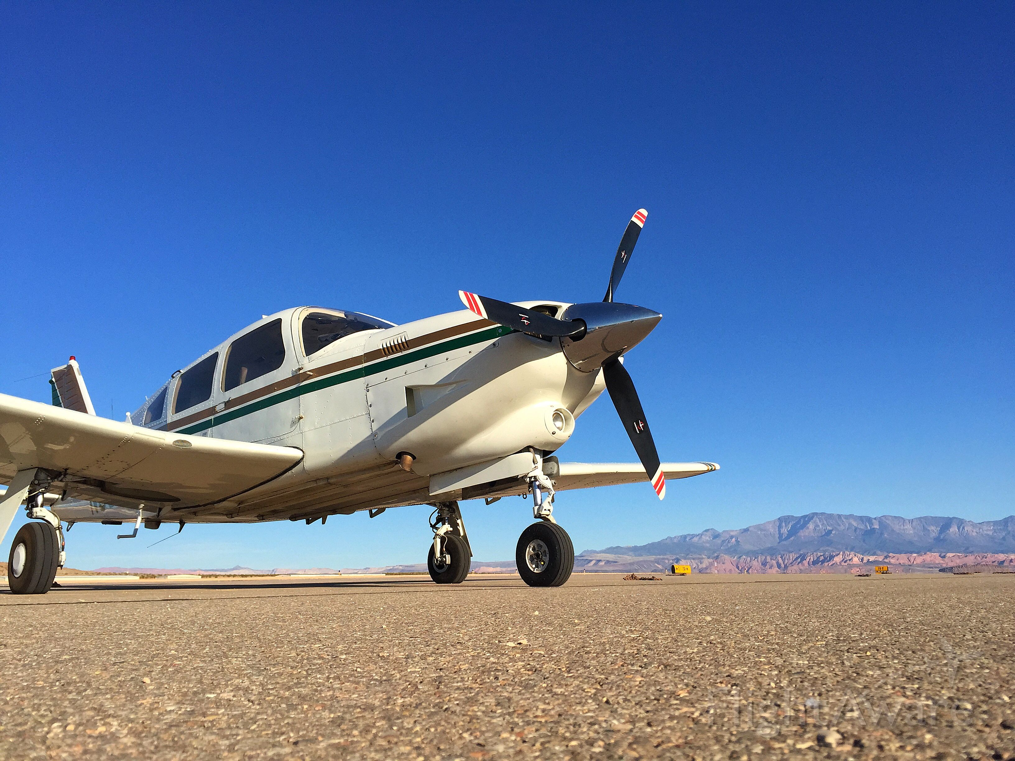 Piper Cherokee Arrow (N3588M) - What a perfect day for a flight.  St George Utah