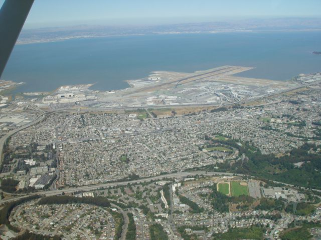 — — - SFO from west 1800