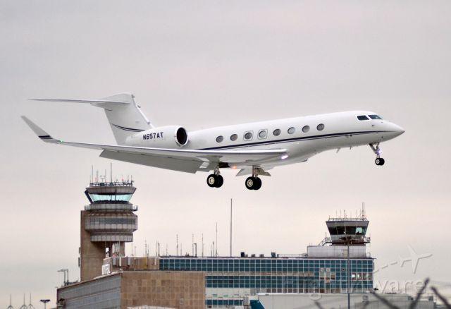 Gulfstream Aerospace Gulfstream G650 (N657AT)