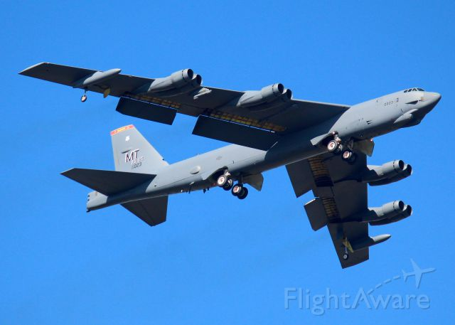 Boeing B-52 Stratofortress (60-0023) - A Minot BUFF at Barksdale Air Force Base.