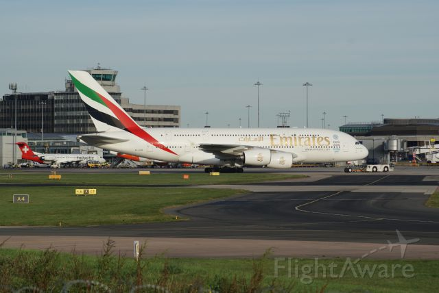 Airbus A380-800 (A6-EDW) - Emirates A388 cn103