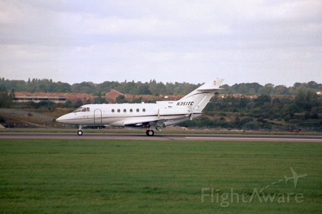Raytheon Hawker 800 (N351TC) - Oct-04