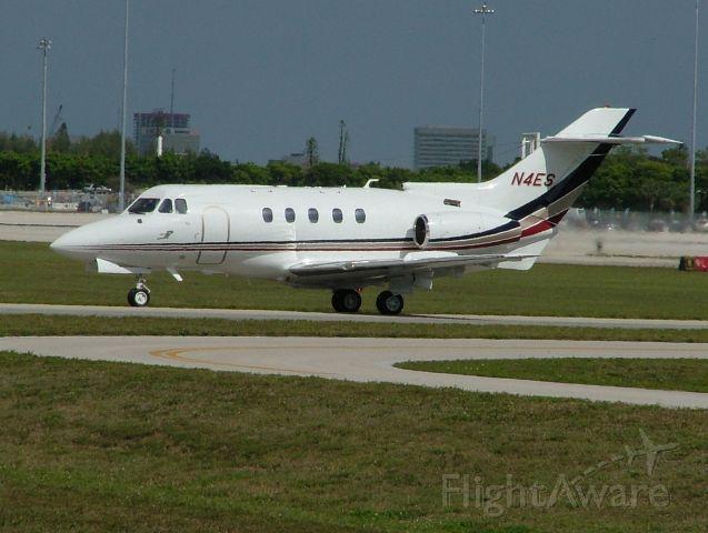 Hawker Siddeley HS-125-400 (N4ES)