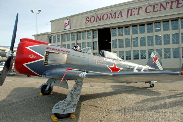 YAKOVLEV Yak-11 (N46463) - Will Whiteside