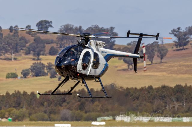 MD Helicopters MD 500 (VH-PLJ) - Aeropower (VH-PJL) McDonnell Douglas 369D at Wagga Wagga Airport