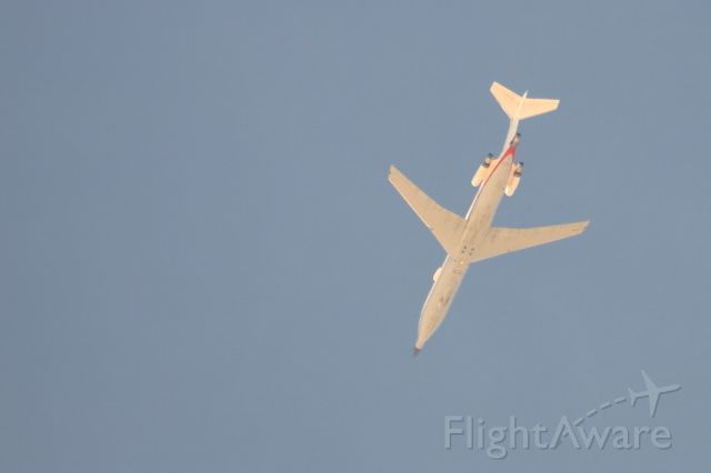 BOEING 727-200 (N289MT) - Voodoo 1 passing over Pinon Hills CA.