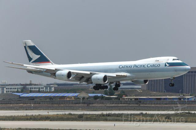 Boeing 747-200 (B-LJB) - B747-867F(B-LJB) Landing