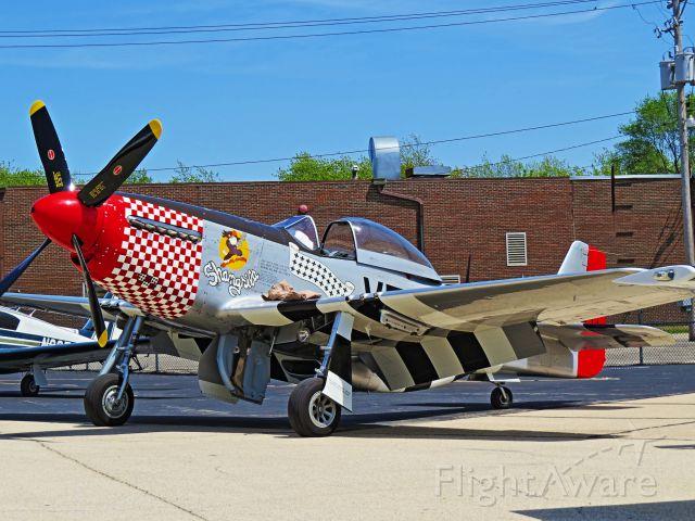North American P-51 Mustang (NL51VF)