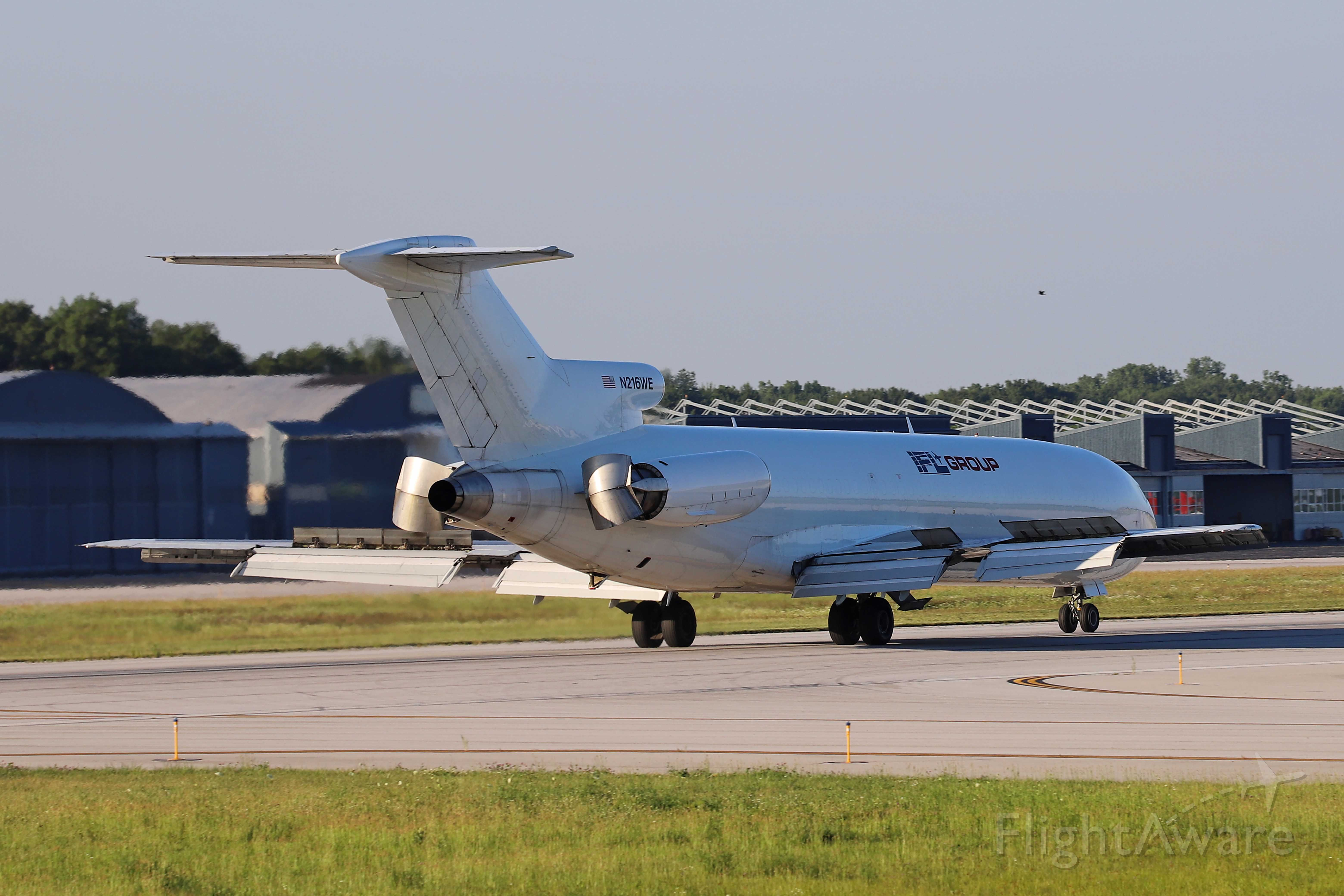 BOEING 727-200 (N216WE) - Flaps, slats, and reverse thrusters on 30 Jun 2020.