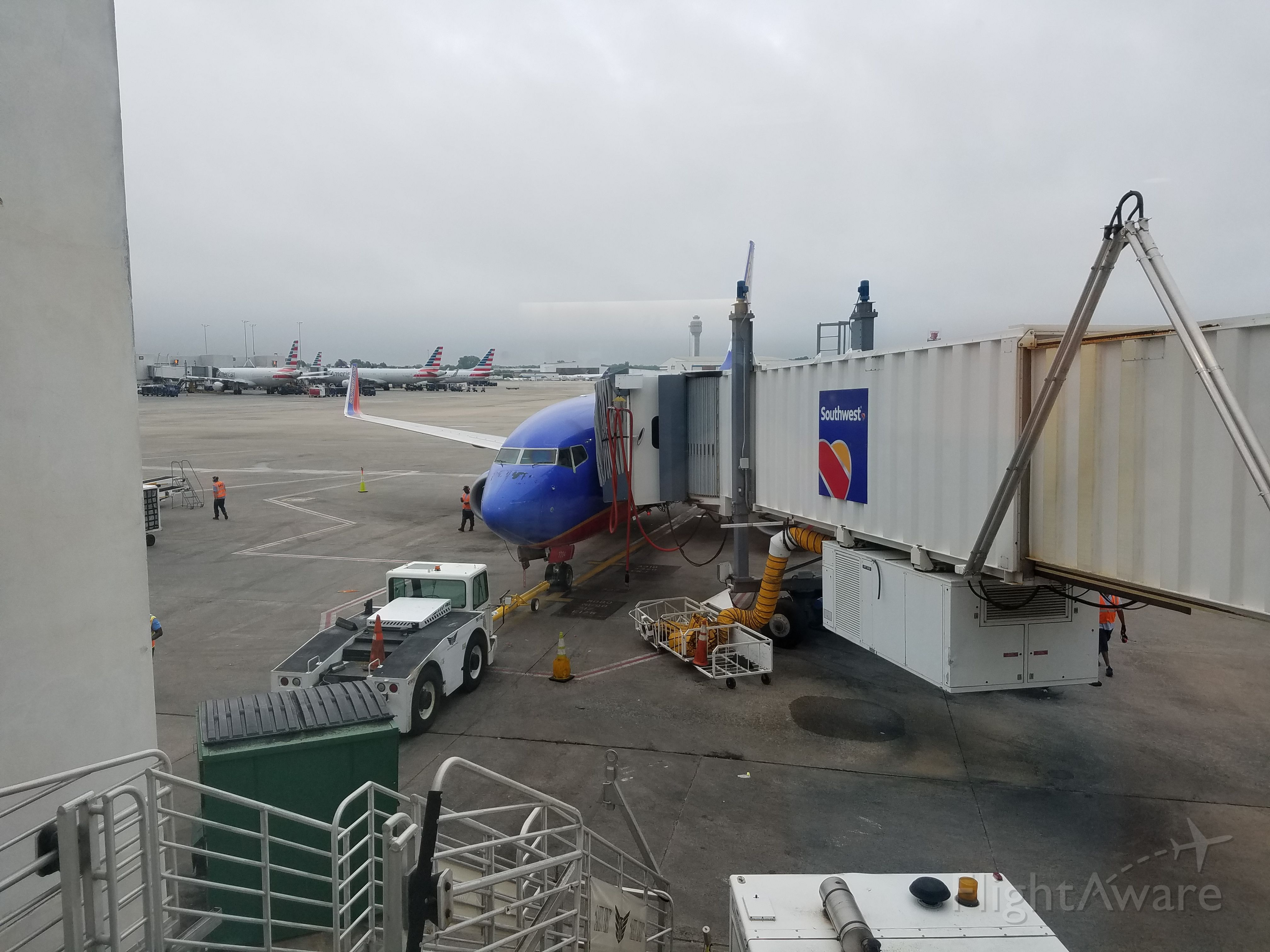 Boeing 737-700 (N7701B) - My flight that would fly me home to BWI.