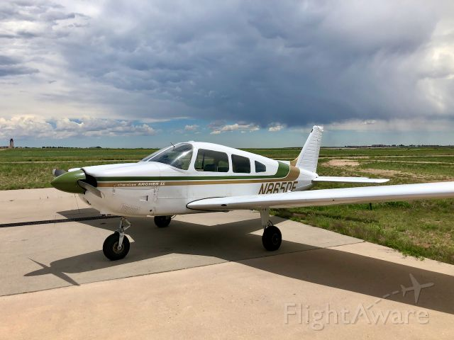Piper Cherokee (N8650E) - Direct Connect Flight Academy