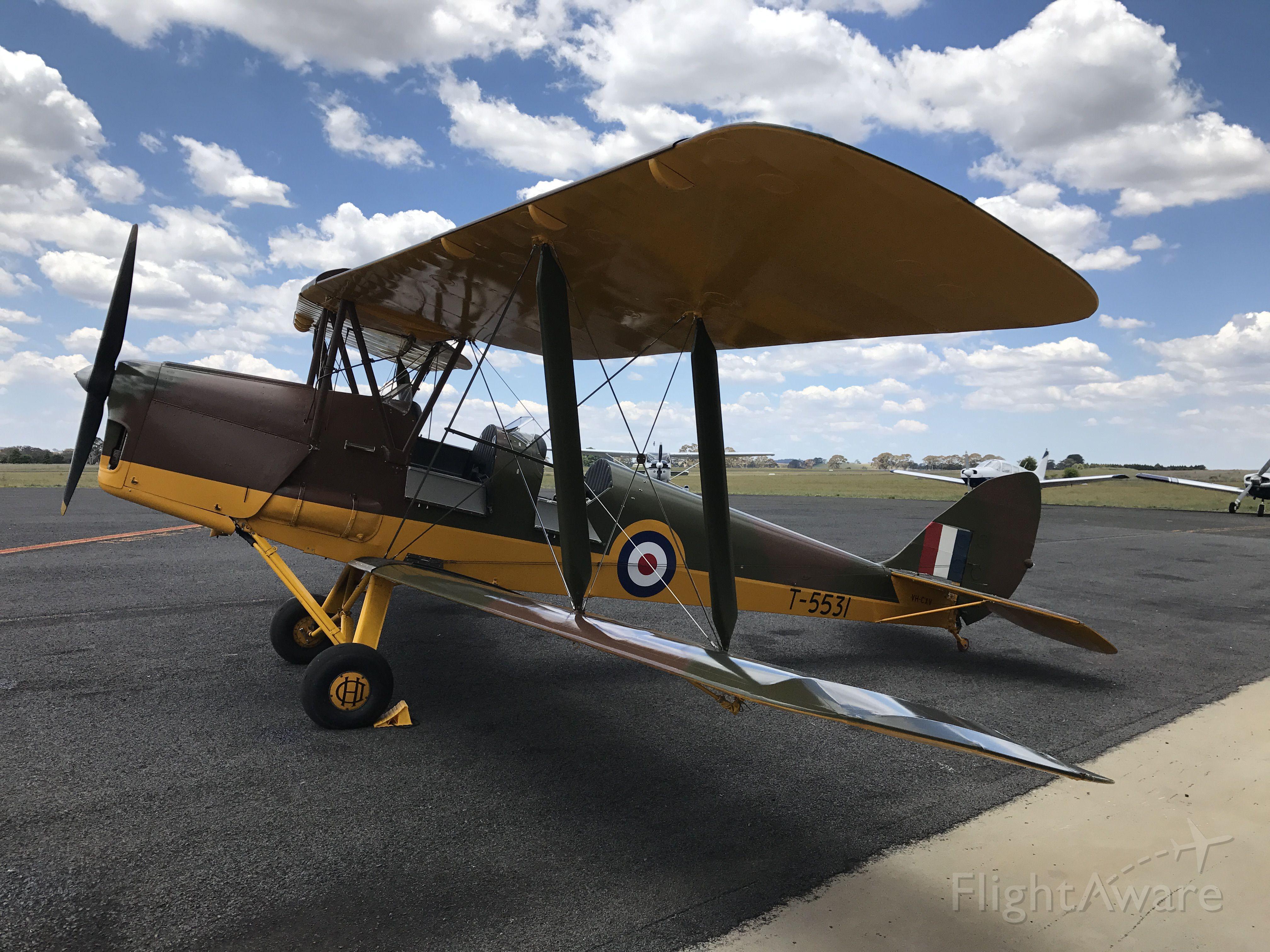 VH-CXV — - Orange Airport, NSW