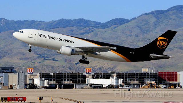 N163UP — - UPS A300 departure RWY 28R