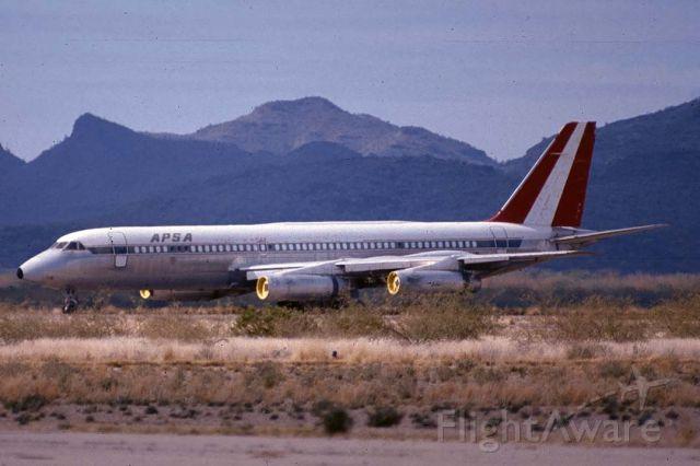 N990AC — - Aerolineas Peruanas SA Convair 990 N990AC at Marana, Arizona on December 30, 1981
