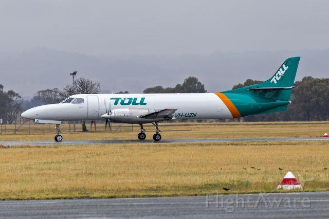 Fairchild Dornier SA-227DC Metro (VH-UZN) - Toll Aviation (VH-UZN) Fairchild SA227-DC Metro 23 at Wagga Wagga Airport.