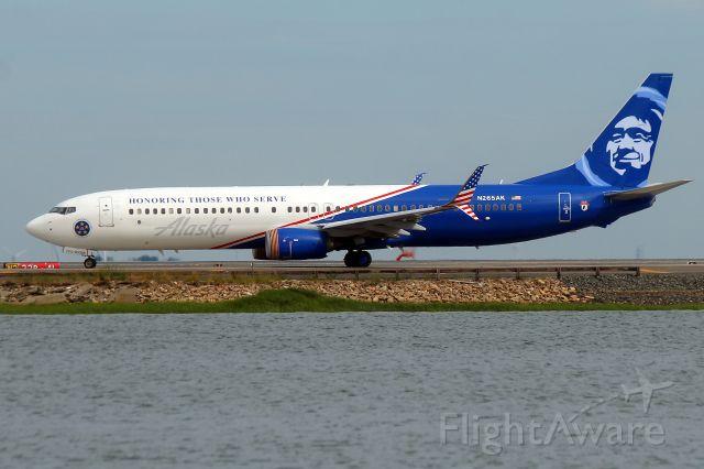 Boeing 737-900 (N265AK) - Alaska