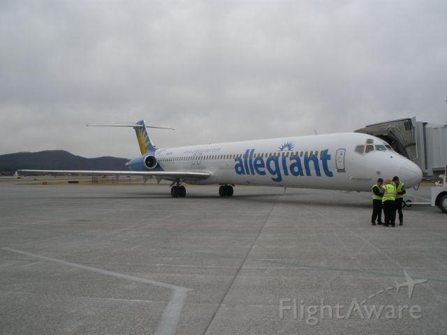 McDonnell Douglas MD-83 (N887GA) - Allegiant Air MD-83