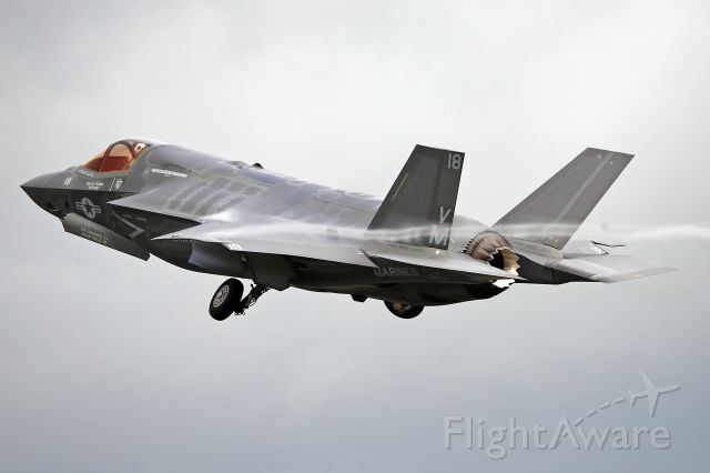— — - At the start of its display at RAF Fairford during RIAT