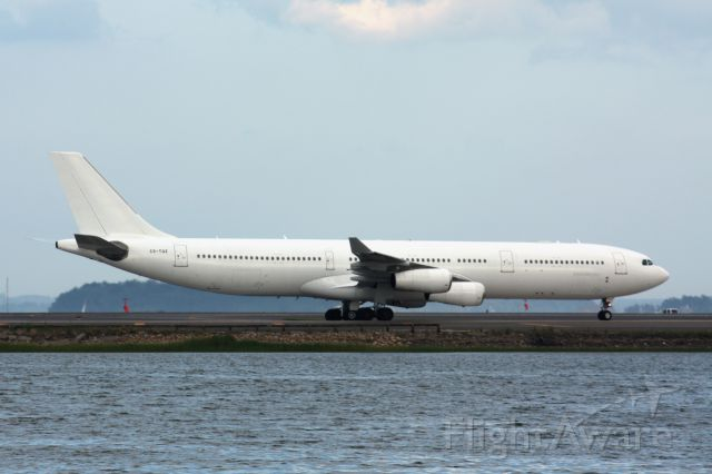 Airbus A340-300 (CS-TQZ) - Hi-Fly A340-300 operating for Azores Airlines