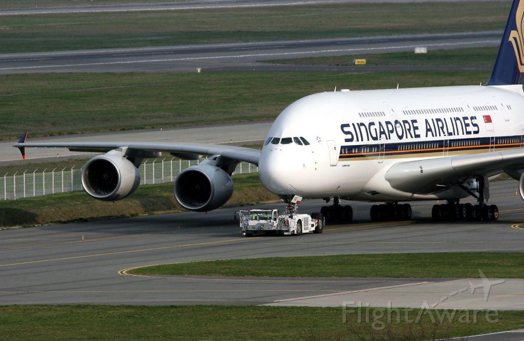 Airbus A380-800 (SV-SKQ) - Airbus A380, Toulouse Blagnac Airport (LFBO-TLS)