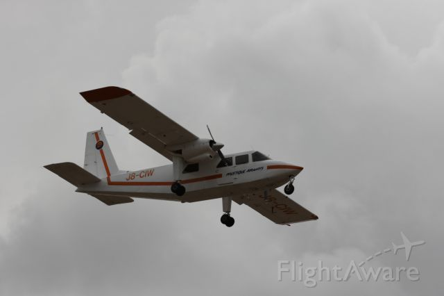 ROMAERO Islander (J8-CIW)