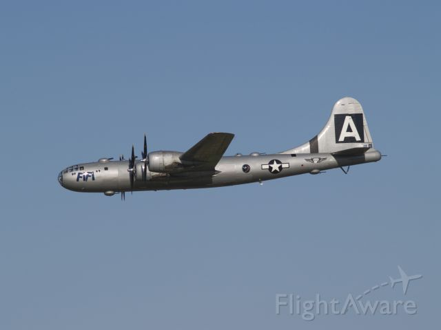 Boeing B-29 Superfortress (NX529B) - Commemorative Air Force B-29 'Fi-Fi' coming in to land at Airventure, July 2011