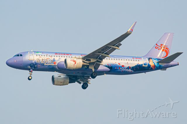 Airbus A320 (B-8593) - Thanks for view and give me 5 star please
