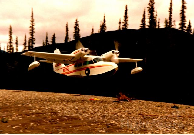 Grumman G-44 Widgeon (N575L) - Koyukuk river air dropping supplies