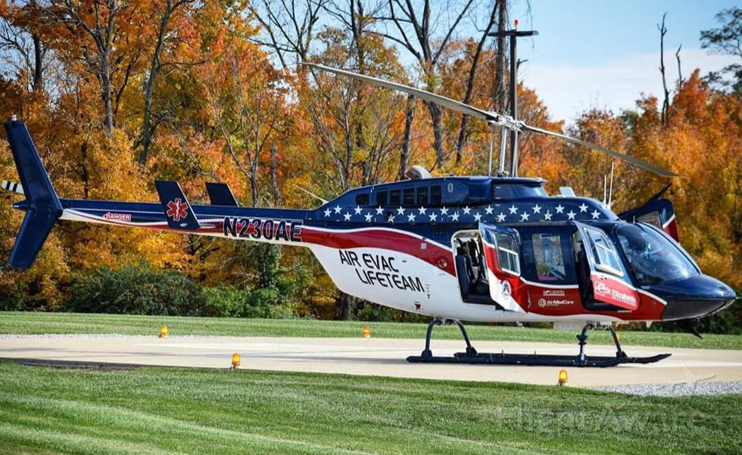 Bell JetRanger (N230AE) - AirEvac Lifeteam Bell 206
