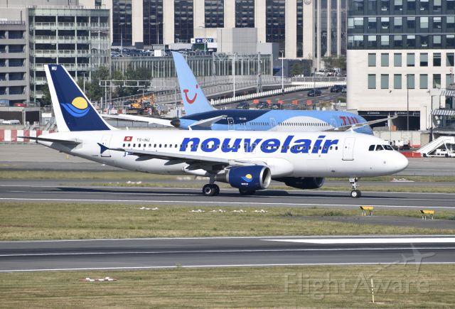 Airbus A320 (TS-INU)
