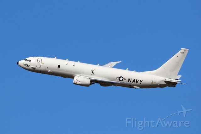 Boeing 737-800 (16-9002) - US Navy P-8A Poseidon Registration 169002 MSN 44943 Line 5740 performing Touch and Go's and Jacksonville International Airport on December 12th, 2017.