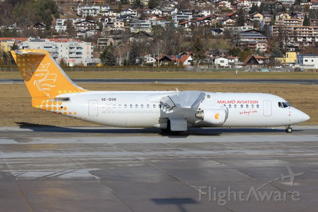 Avro RJ-100 Avroliner (SE-DSR)